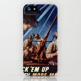 Back em up iPhone Case