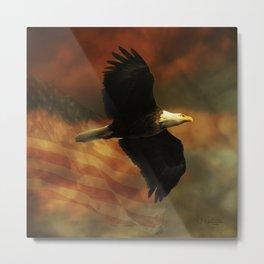 American Eagle Metal Print