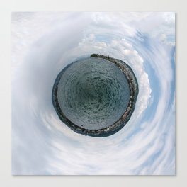 Small Planet X Canvas Print
