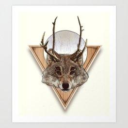 DOOMWOLF Art Print