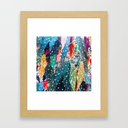 Begonias Framed Art Print