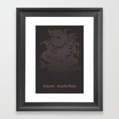 Liquid Distortion Mark II Framed Art Print