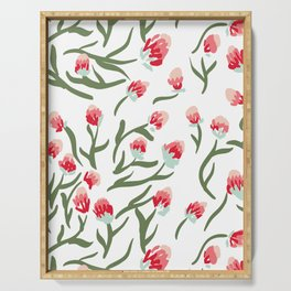 Wild Protea Pattern Serving Tray