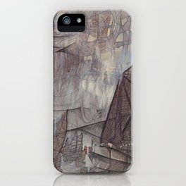 Crossing the Blurred Line Between Us iPhone Case