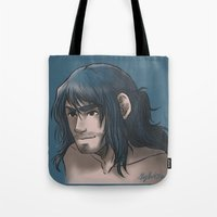 kili Tote Bags featuring Kili ColorPalette by ScottyTheCat