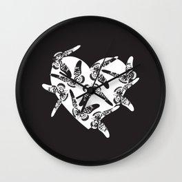 Wild and Rare Love Wall Clock