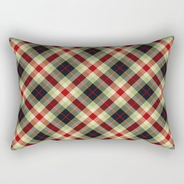 Holiday Plaid 5 Rectangular Pillow