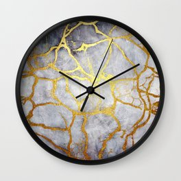 KINTSUGI  ::  Recognise Beauty Wall Clock