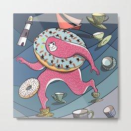 Bigfoot Big Toes in a Teacup in a Storm Metal Print