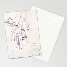 Given enough time, nature will win Stationery Cards