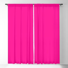 The Best Fuschia of them All Blackout Curtain
