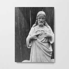 Chocolate Candy Jesus Christ Metal Print