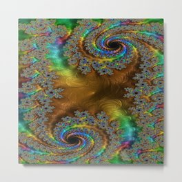 Undeniable Stronghold Fractal Metal Print