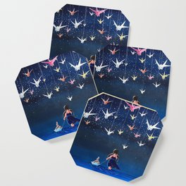 Origami Dream Coaster