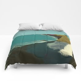 The Coast of California Comforters