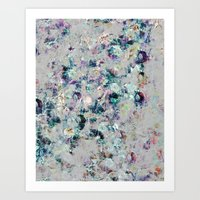 mineral Art Prints featuring Mineral by Georgiana Paraschiv