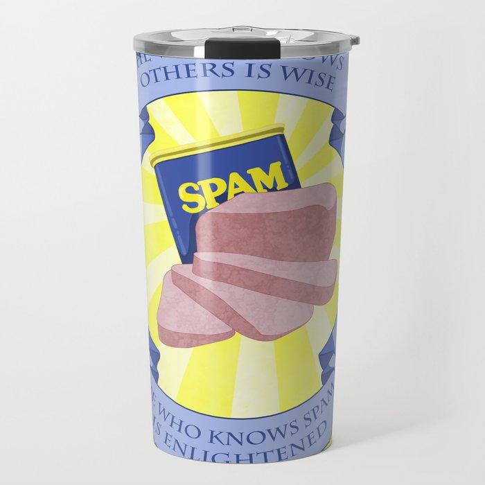 The Spam of Enlightenment Travel Mug