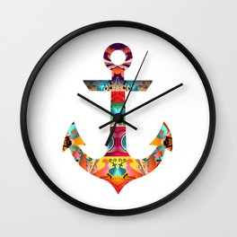 Decorative Anchor Wall Clock