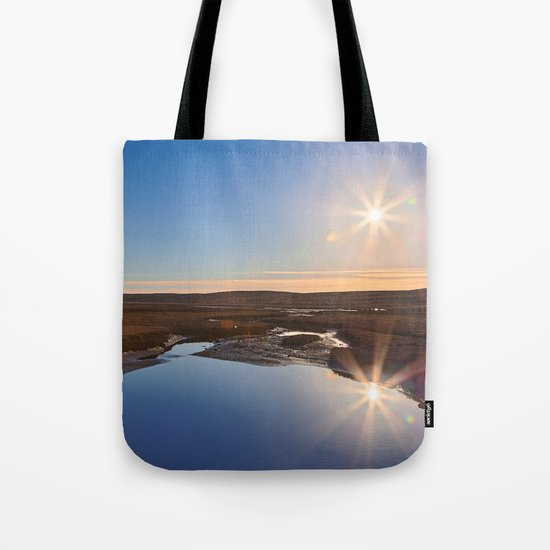 Twin Suns of Point Reyes Tote Bag