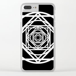 Diamonds in the Rounds Version 2 Clear iPhone Case
