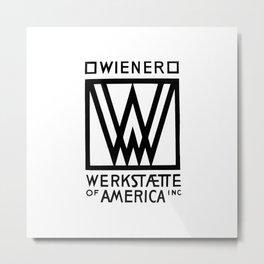 Wiener Werkstaette of America Metal Print