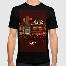 Night Lights Granada Theater, Ithaca NY T-shirt