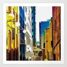 Pike Place (Color) Art Print