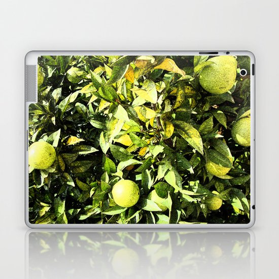 Oranges In Production Laptop & iPad Skin