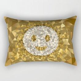 POLYNOID Smiley / Gold Edition Rectangular Pillow