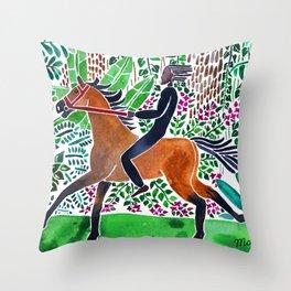 Bush Ride Throw Pillow