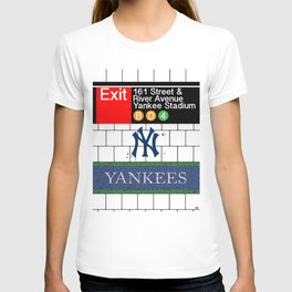 NYC Yankees Subway T-shirt
