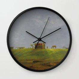 Dreamy Landscape of Cabo Polonio Wall Clock