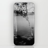 swimming iPhone & iPod Skins featuring swimming  by Lydia Brodde