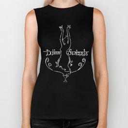 Djinn Swizzle - white logo Biker Tank