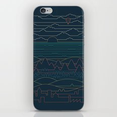Linear Landscape iPhone & iPod Skin