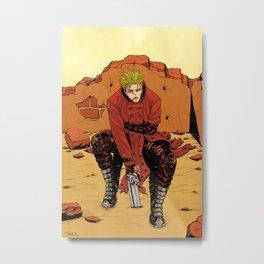 Trigun - Vash the Stampede Metal Print