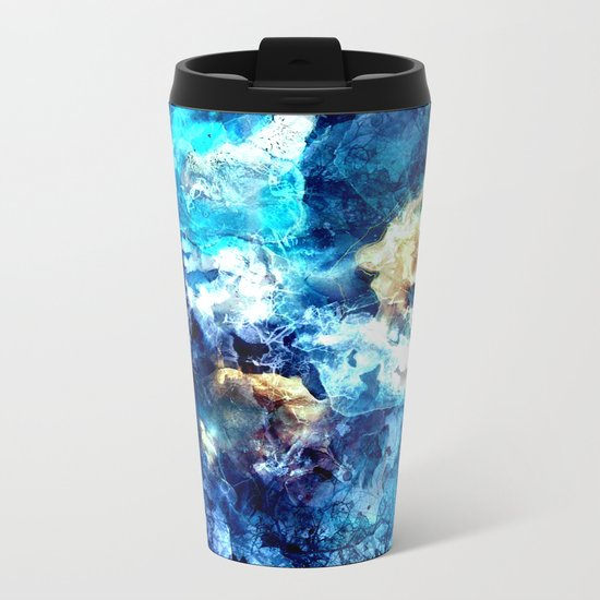 ANTARTICA Metal Travel Mug
