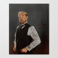 moriarty Canvas Prints featuring Moriarty lives by San Fernandez