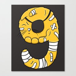 Nine Lives Canvas Print