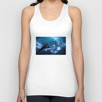 stargate Tank Tops featuring Ships in Space by spacemonkey89