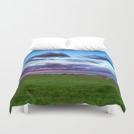 Last colours of the day Duvet Cover