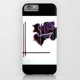 Abstract in perfection - Fertile Imagination Rose 5 iPhone Case