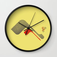 Excitebike Wall Clock