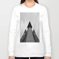 building Long Sleeve T-shirts featuring Building  by Alyssa Gioia