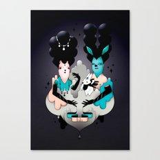 Les Aristos Canvas Print