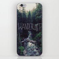 marina and the diamonds iPhone & iPod Skins featuring Wanderlust: Rainier Creek by Leah Flores