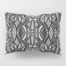 Roller Coaster Black and White Pillow Sham