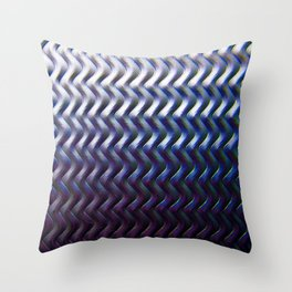 Steel Plated Throw Pillow