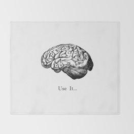 Brain Anatomy - Use It Throw Blanket