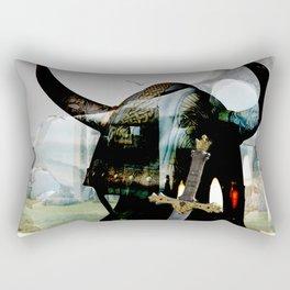 Viking winter Rectangular Pillow